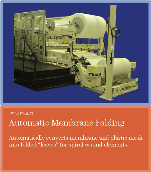EMF Automatic Membrane Folding
